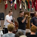 International Music Camp Faculty Jazz Quintet performing in a workshop