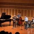 International Music Camp Faculty Jazz Quintet performing in performance